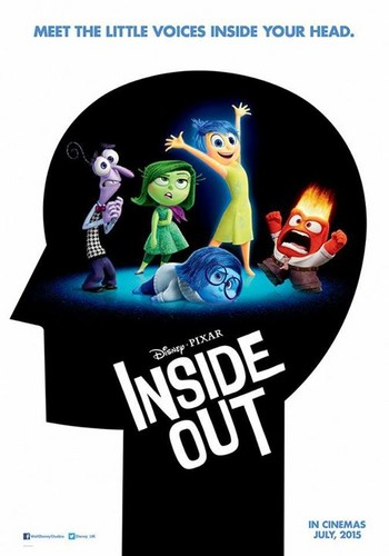 Inside Out achtergrond possibly containing a venn diagram and anime titled Inside Out - Official Poster