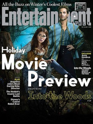 Into The Woods - Entertainment Weekly Cover
