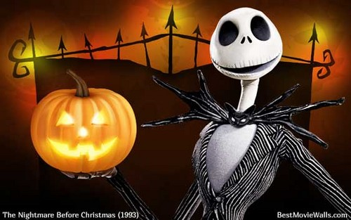o estranho mundo de jack wallpaper titled Jack Skellington - the abóbora king