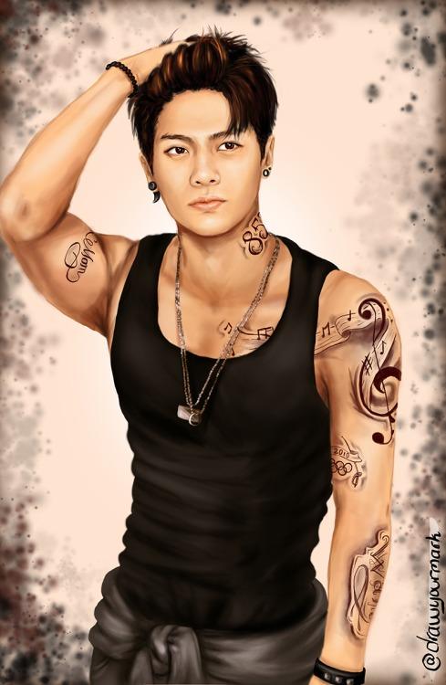 Jackson drawing❤ ❥