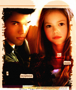 Jacob and Renesmee(2 of my fave TS characters)