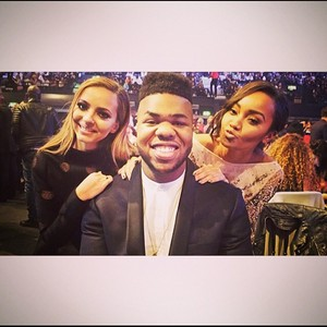 Jade and Leigh with MNEK