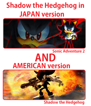 japón and American version of Shadow