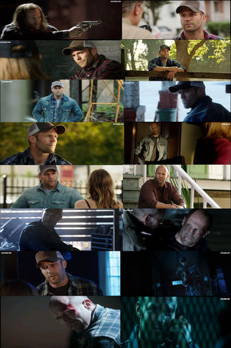 Jason Statham Hintergrund possibly with a speiselokal, diner titled Jason in Homefront