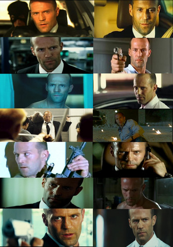 Jason Statham Обои probably containing a fedora, a boater, and a dress hat entitled Jason in Transporter