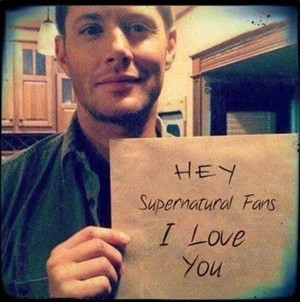 Jensen Ackles Message To Spn ファン