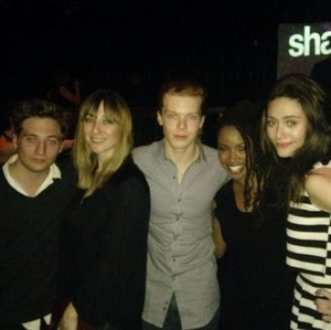 Jeremy, Isidora, Cam, Shanola and Emmy