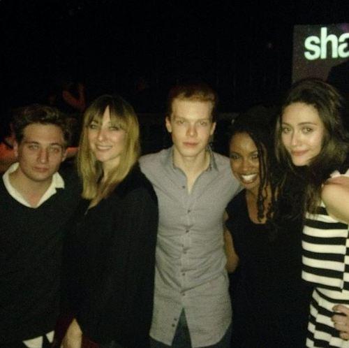 Jeremy, Isidora, Cam, Shanola and Emmy
