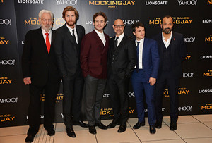 Josh Hutcherson at the world premiere of The Hunger Games: Mockingjay Part 1 , 10 Nov 2014