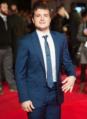 Josh Hutcherson at the world premiere of The Hunger Games: Mockingjay Part 1 , 10 Nov 2014