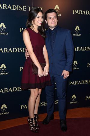 Josh Hutcherson attends the Paris Premiere of 'Paradise Lost' - October 21st, 2014
