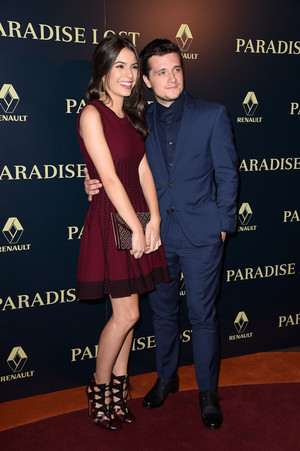 Josh Hutcherson attends the Paris Premiere of 'Paradise Lost' - October 21st, 2014