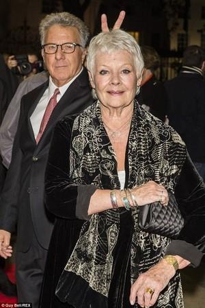 Judi Dench and Dustin Hoffman