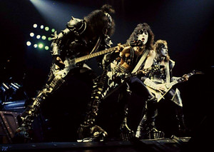 KISS...Creatures Of The Night Tour...Canada, January 14, 1983