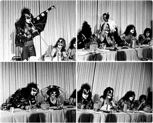 KISS...Detroit January 1976