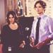 Kate Callahan and Spencer Reid - criminal-minds icon