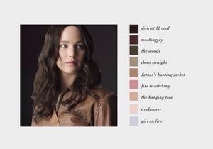 Katniss Everdeen | Color Scheme