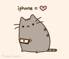 Kawaii Cat: Iphone = ♥