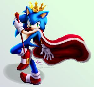 King Sonic!