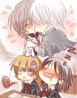 Kissing chibi
