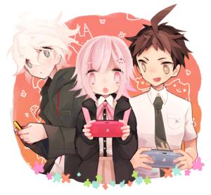 Komaeda, Nanami, and Hinata