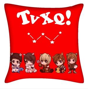 Kpop TVXQ JYJ animation character image pillow