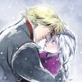 Kristoff and Anna - frozen fan art