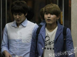 Kyu and Wook Together