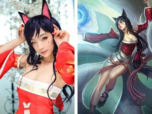 League Of Legends - Ahri Cosplay