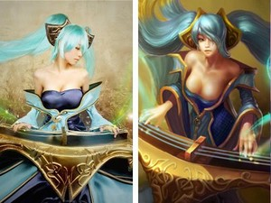 League Of Legends - Sona Cosplay