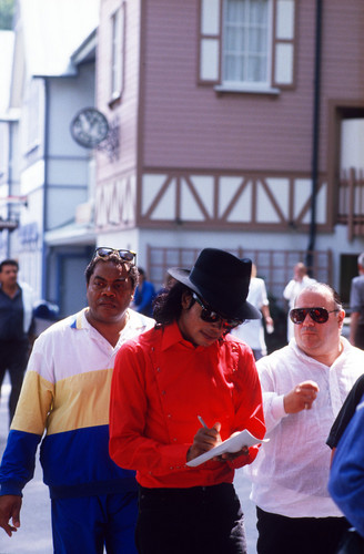 Michael Jackson Hintergrund called Liseberg Sweden 1988 Rare HQ