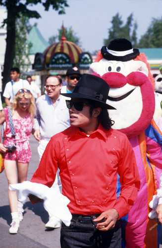 michael jackson wallpaper called Liseberg Sweden 1988 Rare HQ