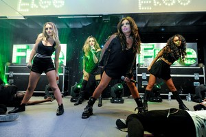 Little Mix Perform at Merry Hill's natal Lights Switch On Event