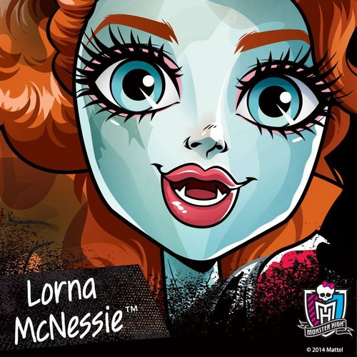 Monster High wallpaper titled Lorna McNessie