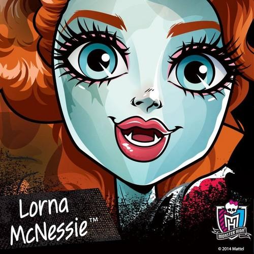Monster High hình nền entitled Lorna McNessie