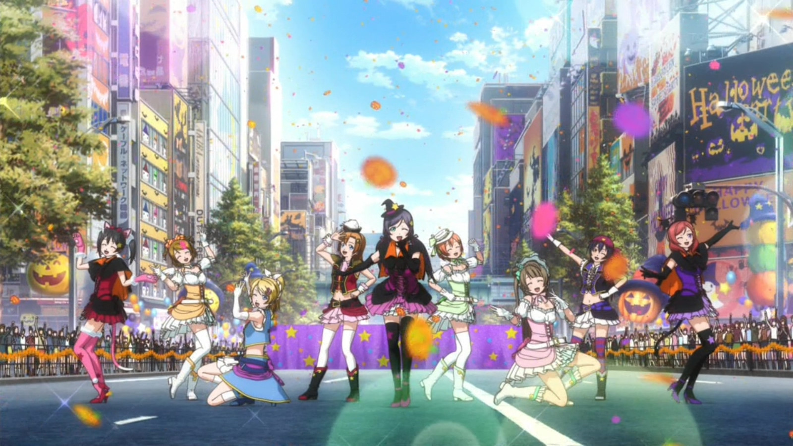 Love live school idol project episode 6 - Avengers assemble episode