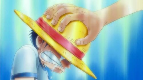 Monkey D. Luffy karatasi la kupamba ukuta titled Luffy One Piece
