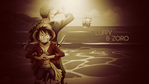 Monkey D. Luffy karatasi la kupamba ukuta probably with a wind turbine, a cross, and a sunset entitled Luffy One Piece