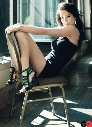 Lynn Collins - GQ Photoshoot - 2009