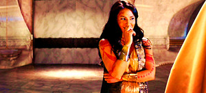 Lynn as Dejah Thoris in 'John Carter'