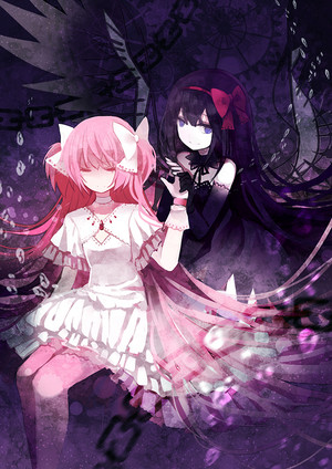 Madokami and Homucifer
