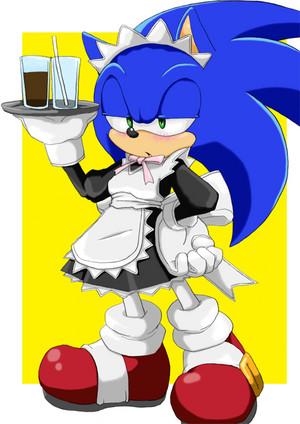 Maid Sonic<3