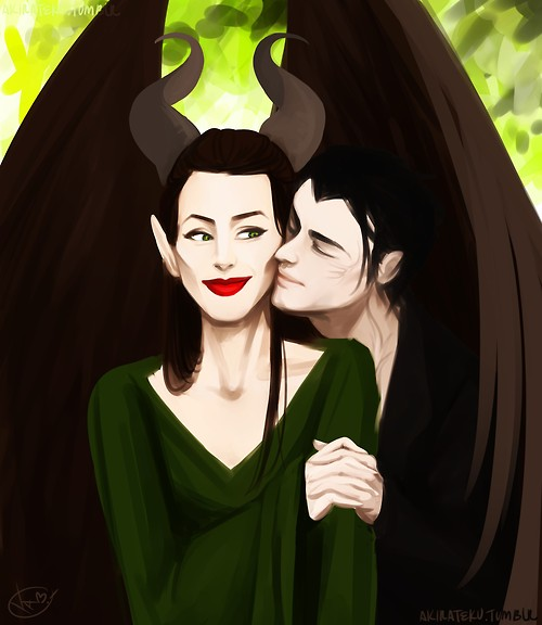 Maleficent Diaval Maleficent And Diaval Photo 37705693