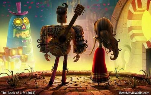 héroïnes des dessins animés de l'enfance fond d'écran titled Manolo and Maria from The Book of life