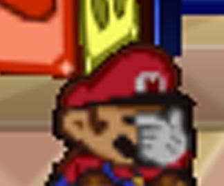 Super Mario Hintergrund entitled Mario Facepalm