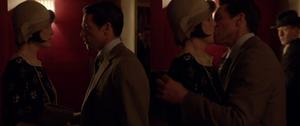 Mary and Blake Kiss