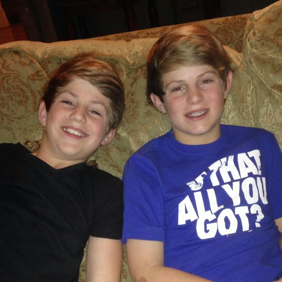 Mathew and Joshua Morris
