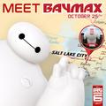 Meet Baymax today at the Utah vs. USC Football game October 25th