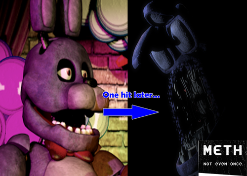 Five Nights At Freddy's hình nền possibly with anime called Meth: Not Even Once