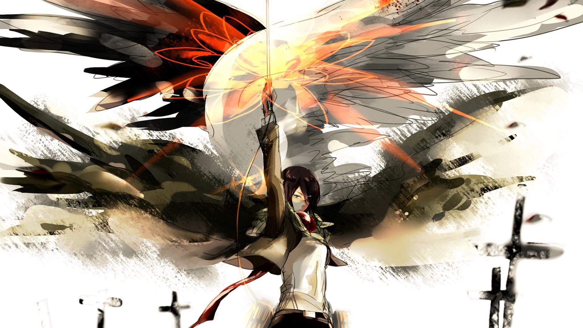 Mikasa Hintergrund Shingeki No Kyojin Attack On Titan